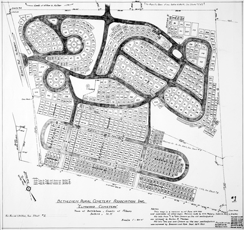 Plot plan bethlehem rural cemetery for How to make a plot plan